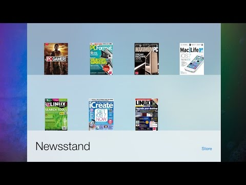 How to remove/delete/unsubscribe magazines from Newsstand iPhone iPad iPod