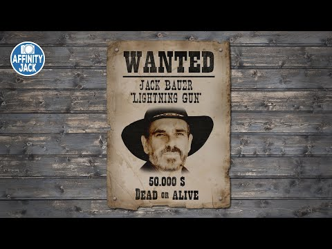 Affinity Photo - Wanted Poster