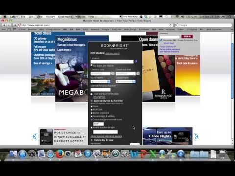 How to book Marriott reservation with Friends and Family codes - short version