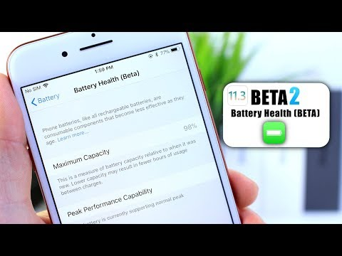 iOS 11.3 BETA 2 | Apple's New Battery Health (Beta) Feature