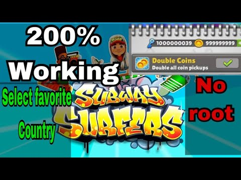 How to hack subway surfers | unlimited coins & keys| all special characters unlocked|NO ROOT ANDROID