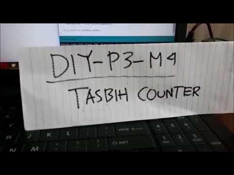 DIY-P3-M4 (TASBIH COUNTER)