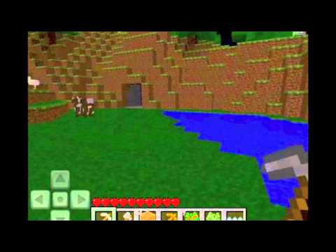 MineCraft Ipad - Stone Pickaxe Take 2