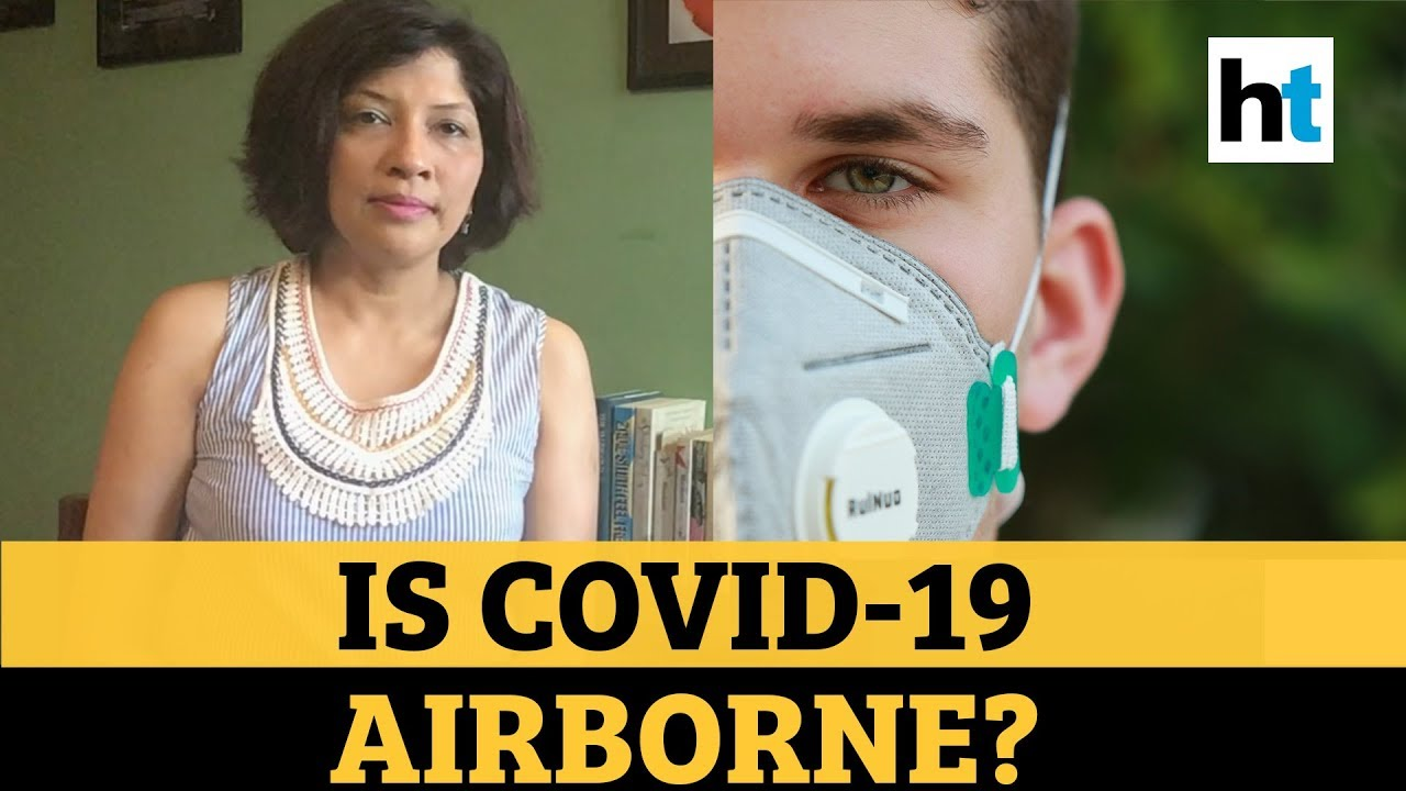 Does simply breathing and talking spread COVID-19?