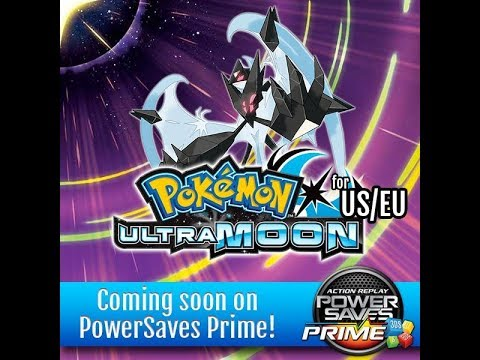 Powersaves RETURNS!!! New codes coming for Pokemon Ultra sun and moon