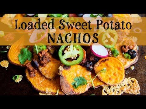 Loaded Sweet Potato Nachos