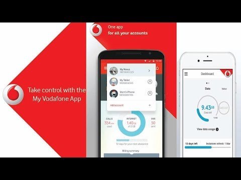 How to Check Postpaid Bill in My Vodafone App