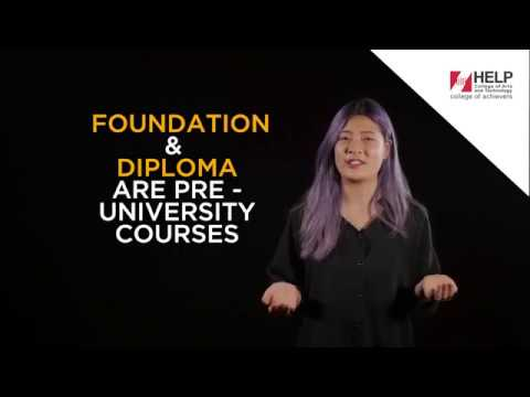 The Difference between Foundation and Diploma