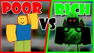 ROBLOX|  Poor Vs Rich SOCIAL EXPERIMENT