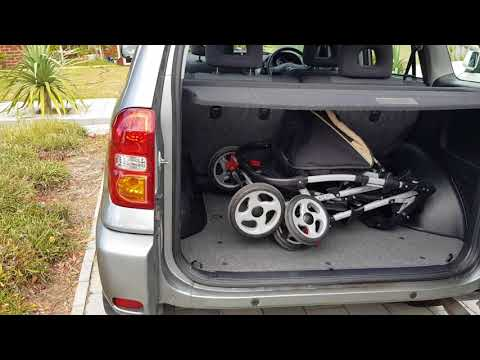 Toyota RAV4: How Much Space Left With the Pram Inside the Boot