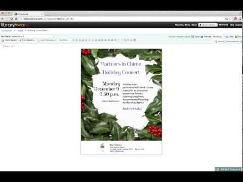 Monday Makeover: Holiday Concert Flyer