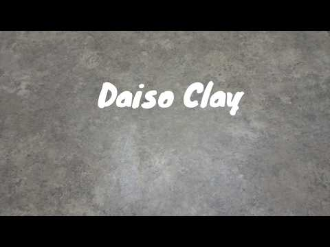 Daiso Clay Butter Slime!