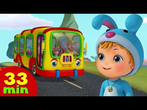 Wheels On The Bus & Much more Nursery Rhymes for Children | Infobells