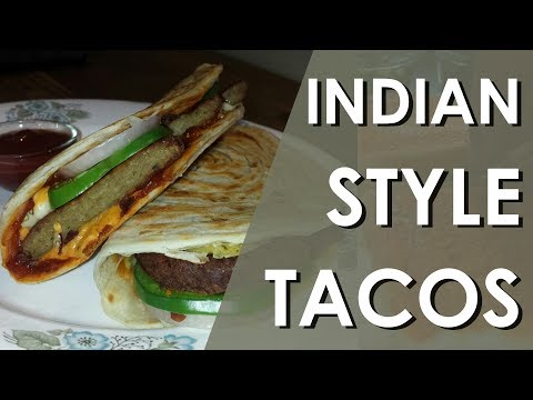 Indian Style Tacos   FoodZoo - Tacos   Indian Style Tacos