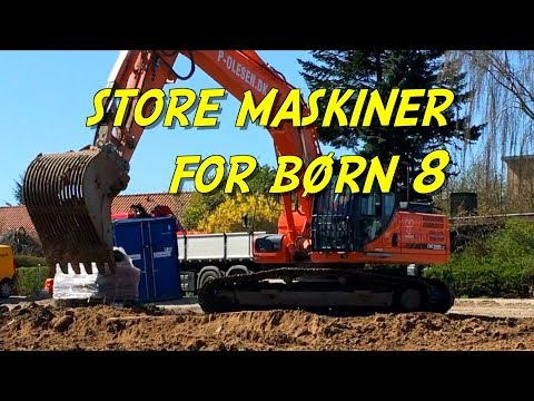 Store maskiner for børn 8