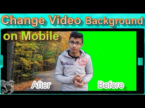 How to Change Video Background on Mobile with Crack Video Editor | Knowledge For you
