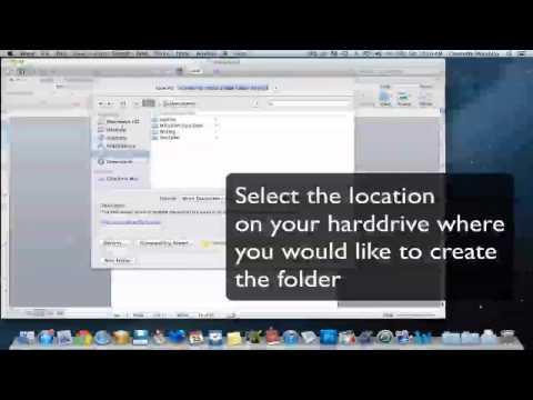 Create a New Folder on Mac Through Microsoft Word