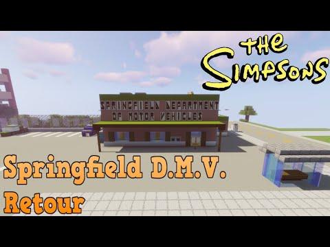 Minecraft Simpsons S05: Springfield DMV Retour!