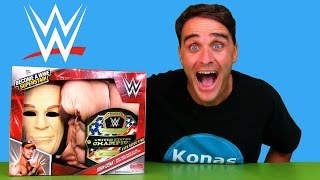 John Cena WWE Become A SuperStar Costume !  || Toy Review || Konas2002