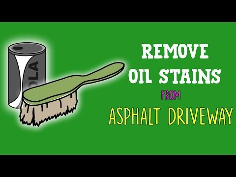 7 DIY Ways to Remove Oil Stains from Asphalt Driveway