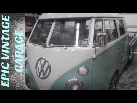 Epic Vintage Volkswagen Garage