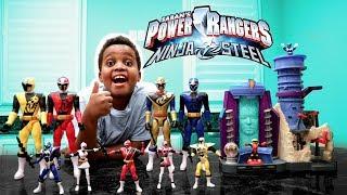 POWER RANGERS CHRISTMAS TOY SURPRISE! - Shiloh And Shasha - Onyx Kids