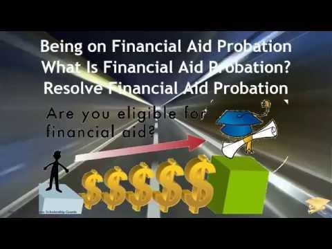Being on Financial Aid Probation - What Is Financial Aid Probation? Resolve Financial Aid Probation