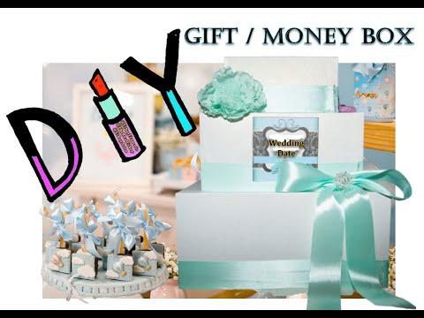DIY Custom Tiffany Blue Wedding Gift Card Box by Eshays