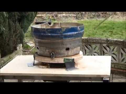 Vibrating Tumbler Part 6, AC To DC Washing Machine Motor, Rust Remover, Cleaner, Polisher, Scrap DIY