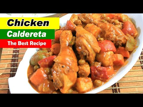 Chicken Caldereta Recipe or Kalderetang Manok by Filipino Recipes Portal