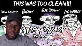 Jack Harlow - WHATS POPPIN Remix ft. DaBaby, Tory Lanez, Lil Wayne | Reaction/Review