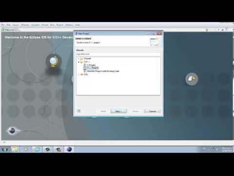 Tutorial Eclipse C-C++ Indigo SR!