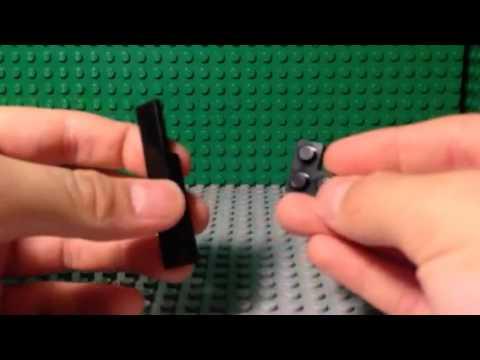 How to make a mini Lego pocket knife. Mini series!
