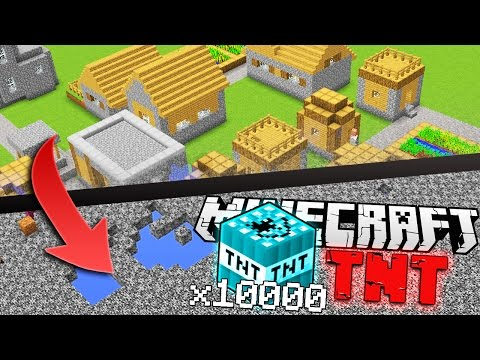 EXPLODING The Most POWERFUL Minecraft TNT Block!