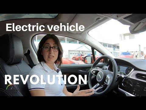 2019 Jaguar I-Pace specific EV tech features demonstration