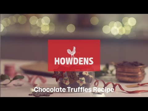 Christmas Chocolate Truffles Recipe From Howdens Joinery