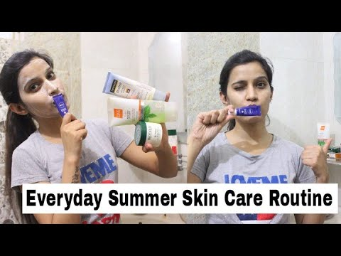 My Easy Summer Skin Care Routine | Affordable Products & Healthy Skin| Super Style tips