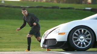 Cristiano Ronaldo vs. Bugatti Veyron