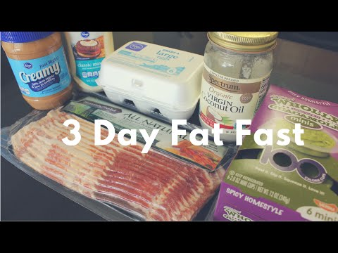 8 Pounds Lost in 3 Days || My 3 Day Fat Fast Meal Plan