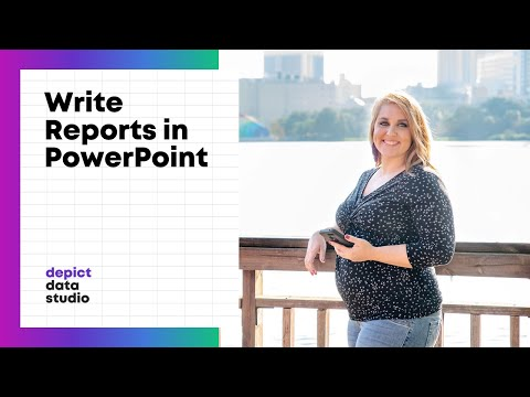 How to Write Reports in PowerPoint (Instead of Word)