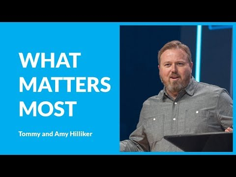 Learn How To Make Room For What Matters Most with Tommy and Amy Hilliker