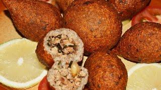 كبة الدجاج المقلية  شيف احمد/Chicken Fried Kibbeh