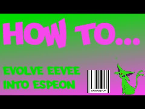 How To Evolve Eevee Into Espeon Pokemon Oras Eeveelution Guide Part 1