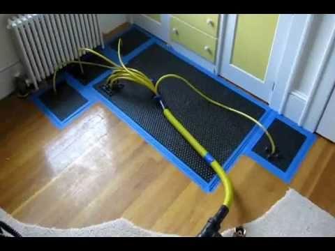 How to repair and Dry Wet Hardwood Floor Water Damage, Sudbury Weston Massachusetts