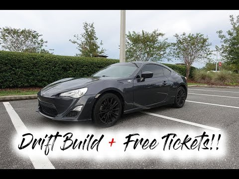 New Drift Build FR-S & Free Concert Tickets Giveaway! | vlog #011