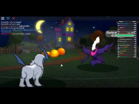 Pokemon brick bronze trolling shiny darkrai with mega absol