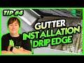 Gutter Installation tip