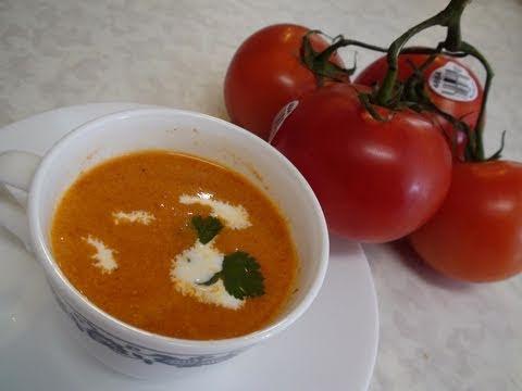 Tomato Soup Recipe in Ten minutes by Bhavna