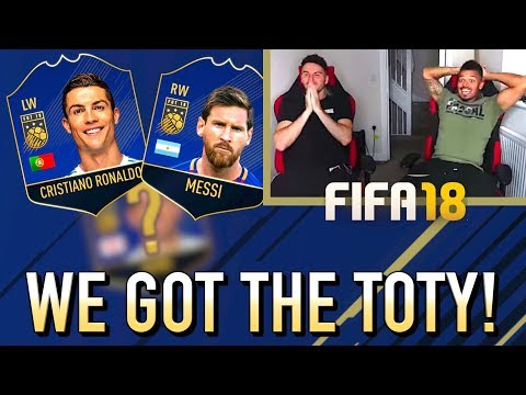 WE GOT THE FIFA 18 TEAM OF THE YEAR!