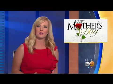 KCAL9 coverage of the Los Angeles Jewish Home's Mother's Day Event